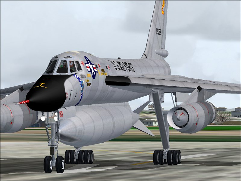 Have Alphasim fsx b 58 hustler this
