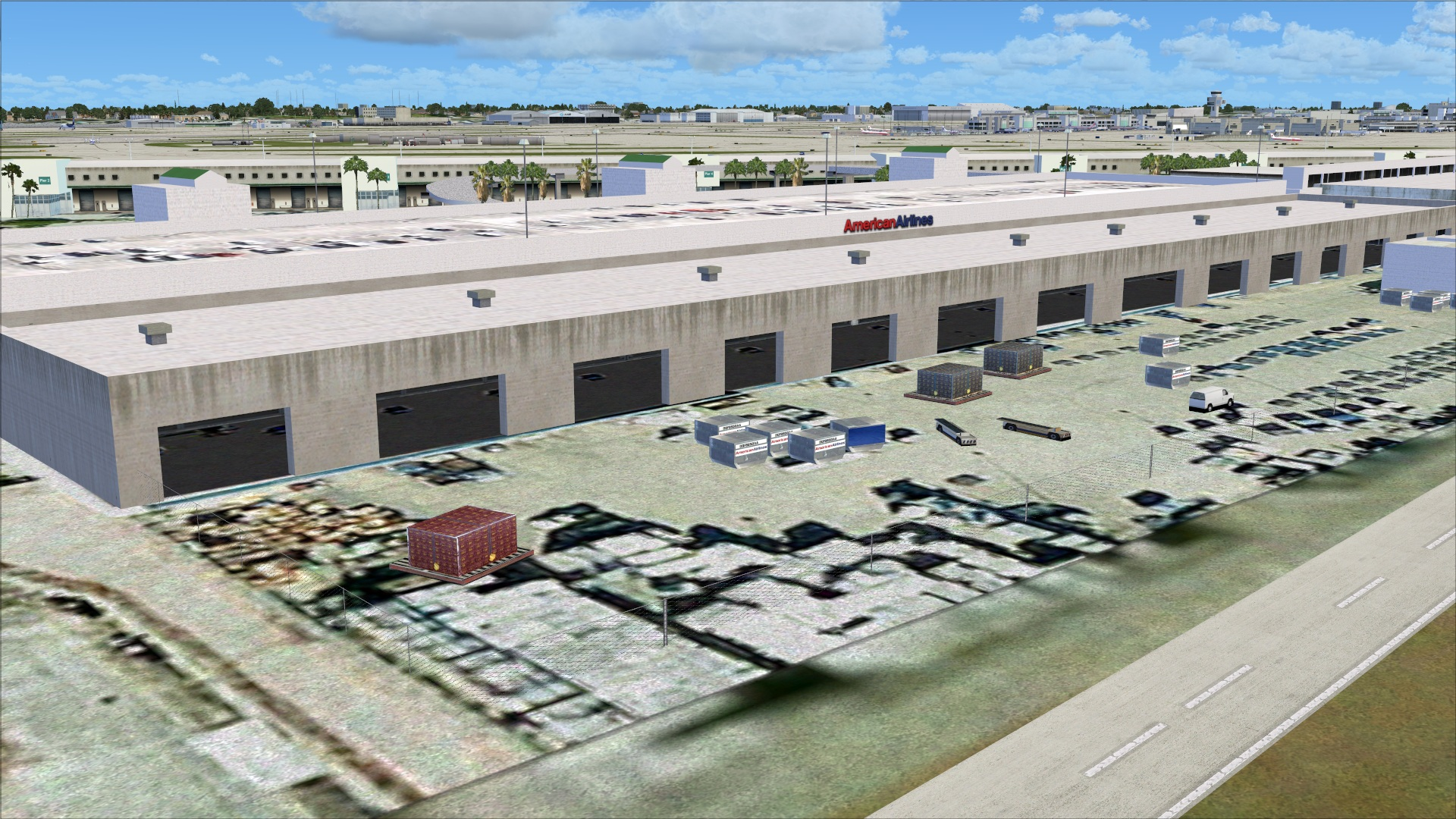 Review of LatinVFR KMIA Miami International Airport v1.1 for FSX ...