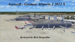 Review of Aerosoft – German Airports 2 2012 X