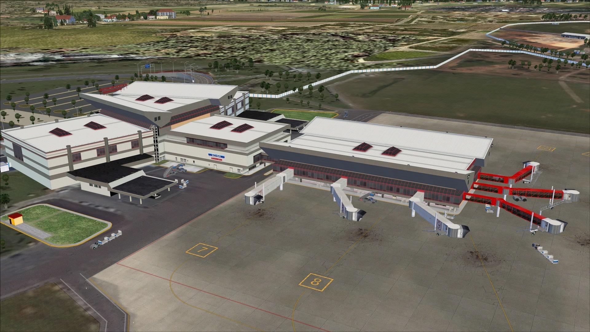 Aeroporto Havana : Review of taxi gate la habana cuba muha fsx josé