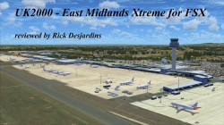 Review of UK2000 – East Midlands Xtreme v1 for FSX