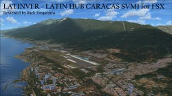LATINVFR – LATIN HUB CARACAS SVMI for FSX review