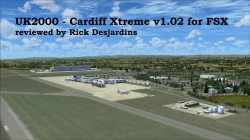 UK2000 Scenery – Cardiff Xtreme EGFF v1.02 for FSX review