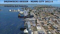 DRZEWIECKI DESIGN – MIAMI CITY 2012 X for FSX review