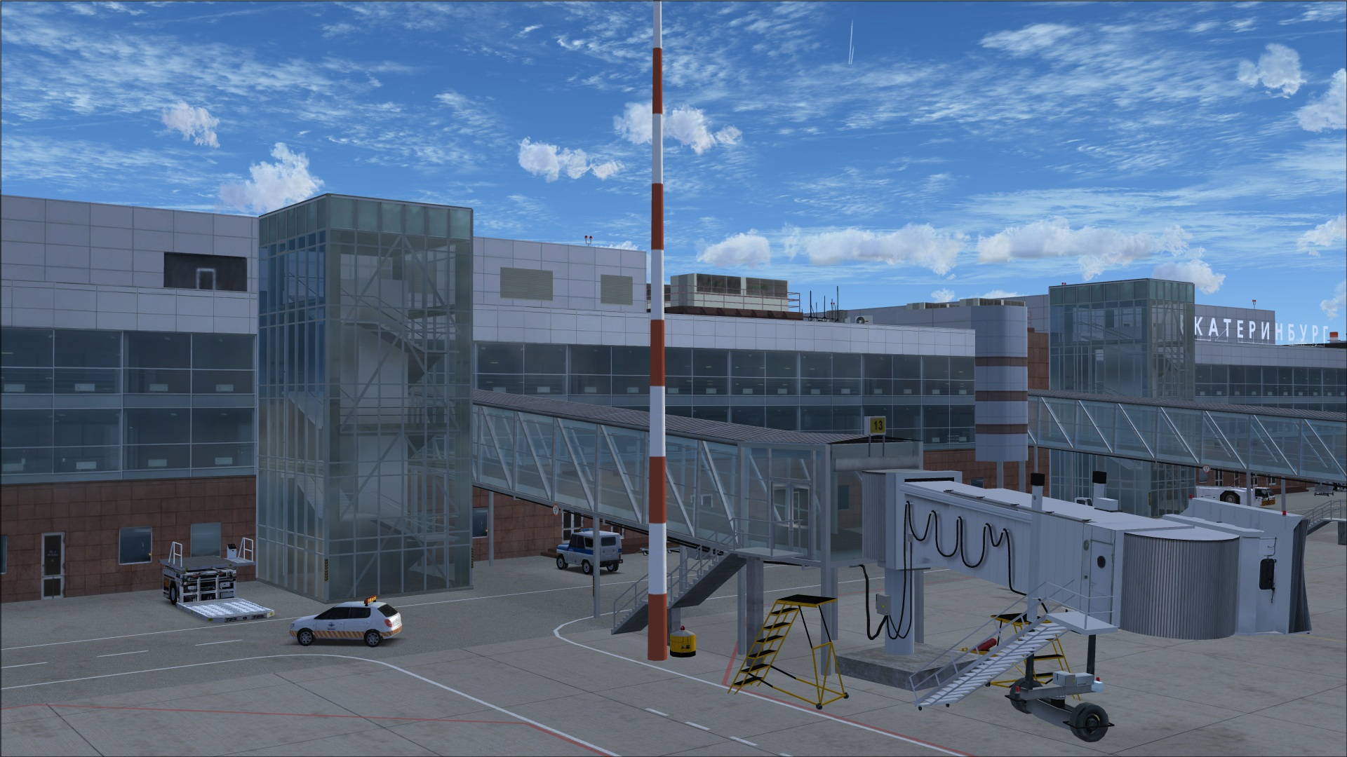 Review Of Aerosoft Yekaterinburg X For Fsx