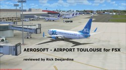Review of AEROSOFT – AIRPORT TOULOUSE for FSX