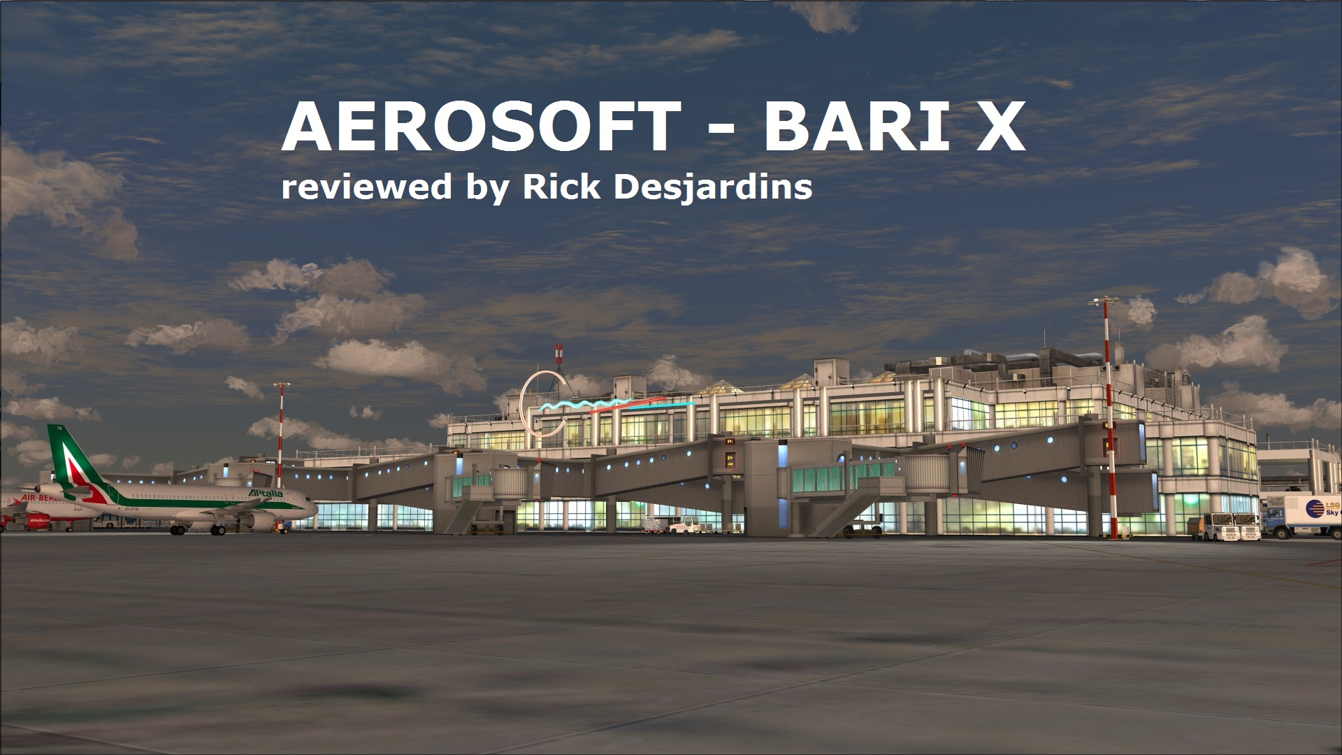 Review of AEROSOFT - BARI X for FSX   Bari Airport, ICAO ...