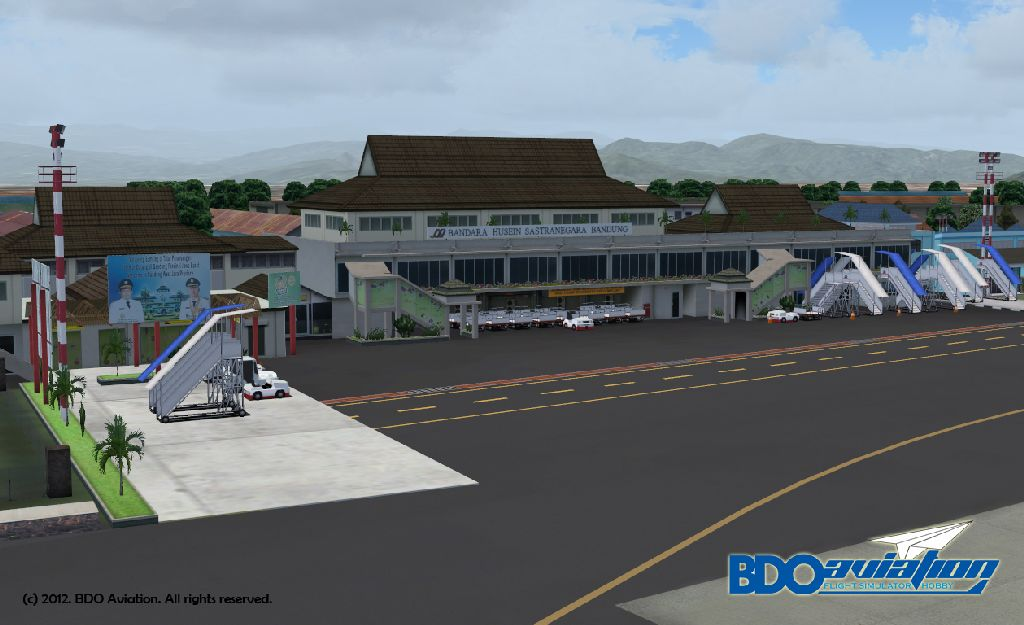 Husein Sastranegara International Airport For Fs9 X