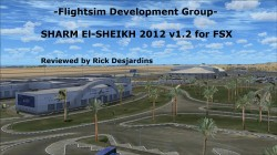Review of Flightsim Development Group – SHARM El-SHEIKH 2012 v1.2 for FSX