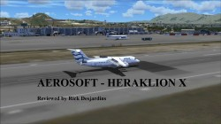 Review of AEROSOFT ONLINE – HERAKLION X