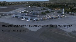 Review of UK2000 SCENERY – EDINBURGH XTREME V3 for FSX