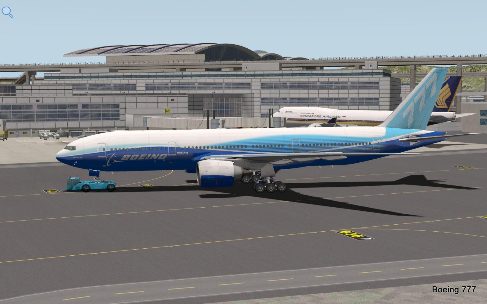 Aircraft update: boeing 777 worldliner pro + extended pack v1. 6.