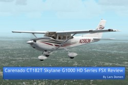 Carenado CT182T Skylane G1000 HD Series FSX Review