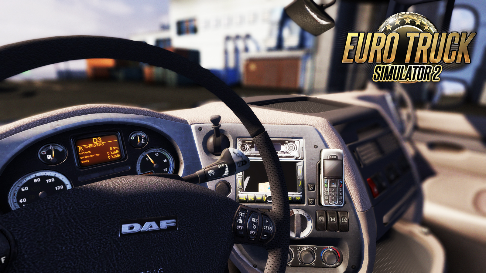 Soon an update for euro truck simulator 2 with licensed daf trucks