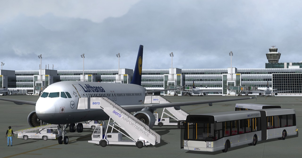 fsx airport enhancement services free download