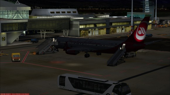 Late night arrival