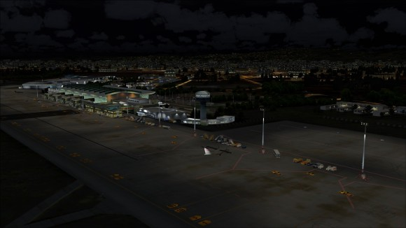 Terminal and apron lighting