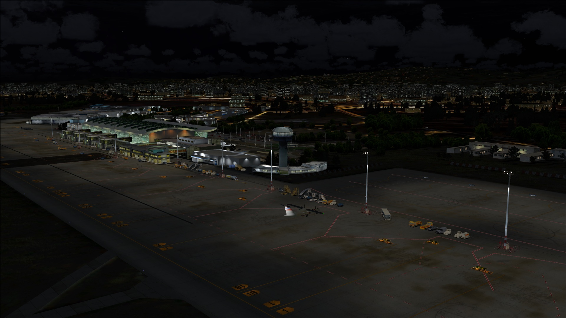 White apron night