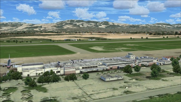 Terminal without any added vehicles