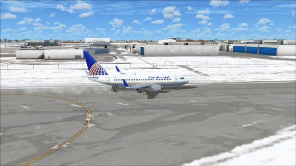 Taxiing to 24L