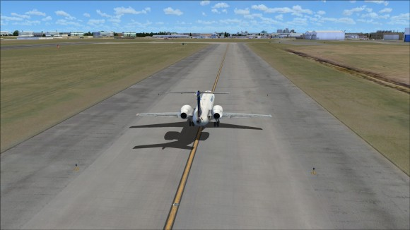 Visible surface deterioration on sides of taxiway
