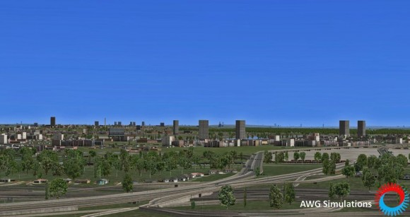 AWG Simulations - Terrain North America