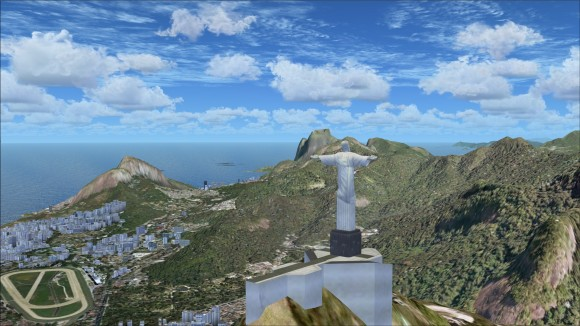 Christ the Redeemer on top of Corcovado Mountain