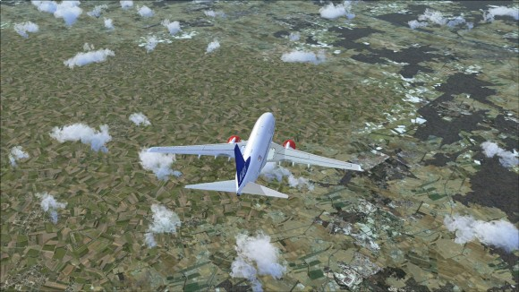 Differences in ground textures between DEX N and FSX