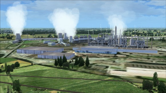 Industrial and power generation structures