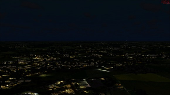 Night time without 3D lights enabled