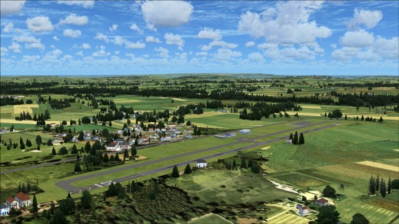 Typical small airfield