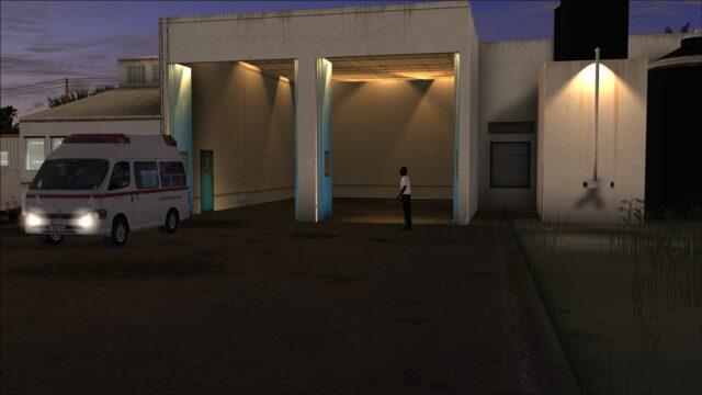 Emergency services garage