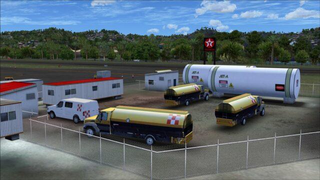 Fuel tanks and trucks