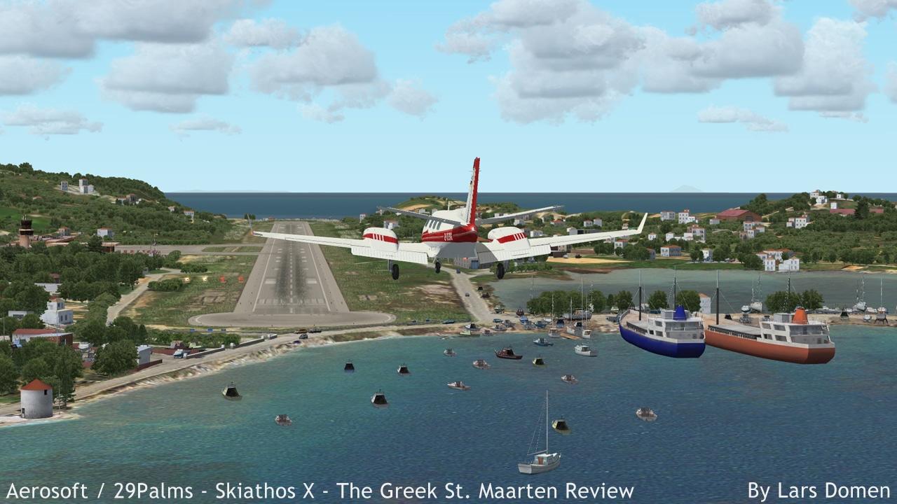 Aeroporto Skiathos : Aerosoft palms skiathos the greek st maarten
