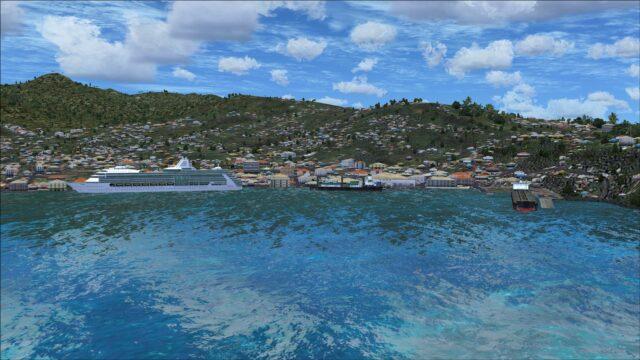 Grenadines wharf