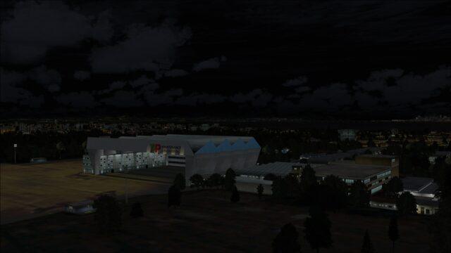 TAP hangar