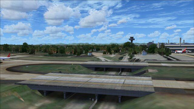 Taxiway bridges