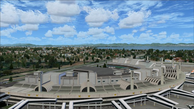 Terminal 2 roof top