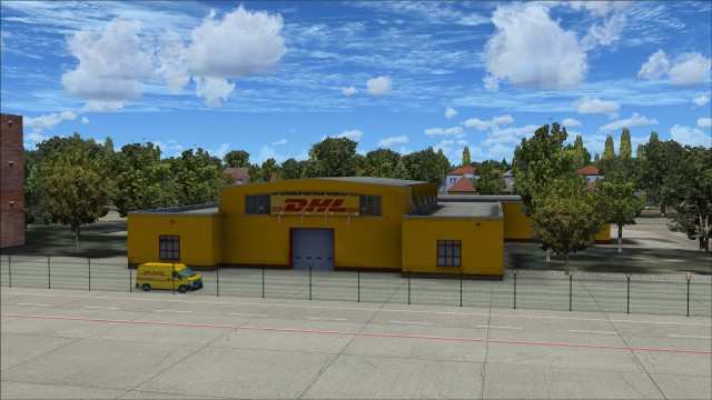 DHL freight building