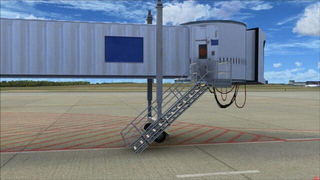 Detailed jet way