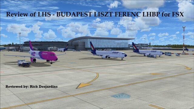 FSX LHSimulations - BUDAPEST LISZT FERENC LHBP V1.01