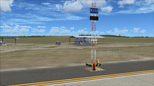 Parking stand identifier mast