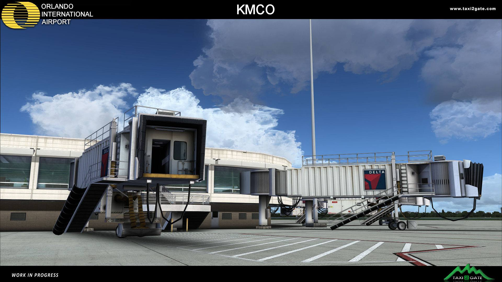 Taxi2gate Works On Orlando Kmco