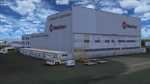 AeroUnion hangar