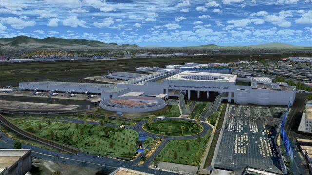 Arrival departure area