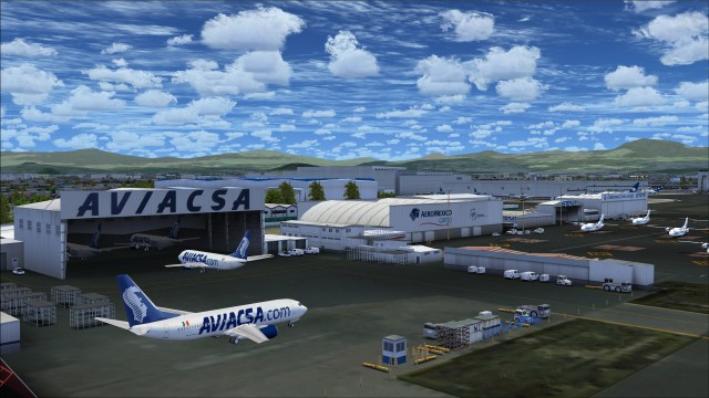 Aviacsa apron area