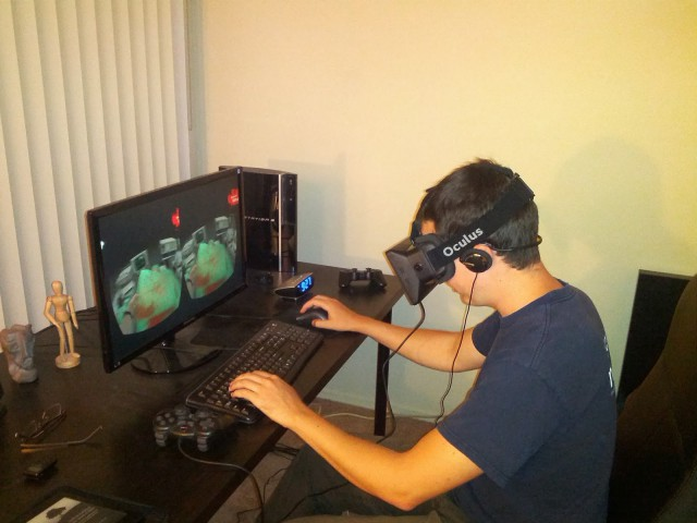 Byron Knoll blog review of Oculus Rift