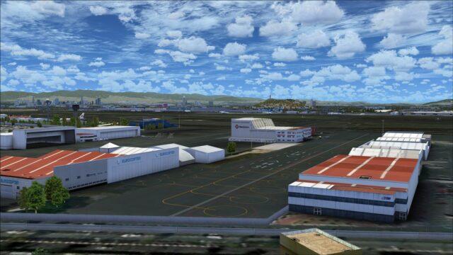 Eurocopter hangars