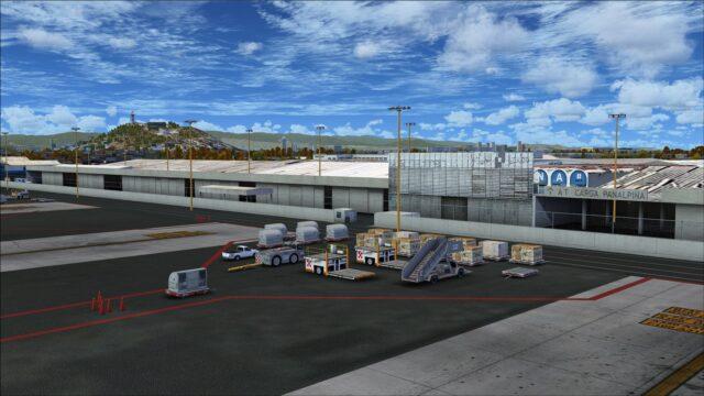 Freight handling equipment