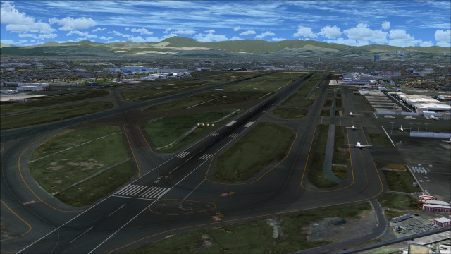 Overview of airport ground textures